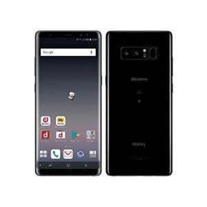 docomo Galaxy Note8 SC-01K Midnight Black happy-square