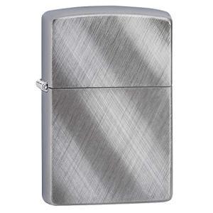 ZIPPO(ジッポー) Chrome Lighters ( クローム ライター) 日本未発売 Diagonal Weave [並行輸入品]|happy-square