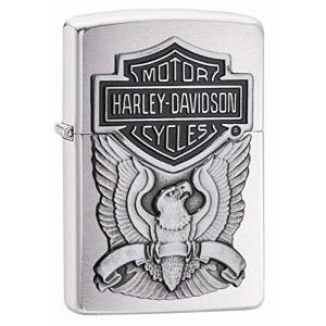 ZIPPO(ジッポー) Harley-Davidson Eagle Wings (ハレー ダビットソン イーグル) ライター 日本未発売 200HD.H284 Brushed Chrome [|happy-square