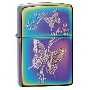 ZIPPO(ジッポー) Butterfly (バタフライ) ライター 日本未発売 28442 Spectrum [並行輸入品]|happy-square