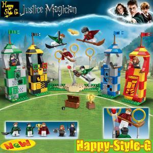 ブロック互換 レゴ 互換品 レゴ75956 ハリーポッター クィディッチ 互換品クリスマス プレゼン...