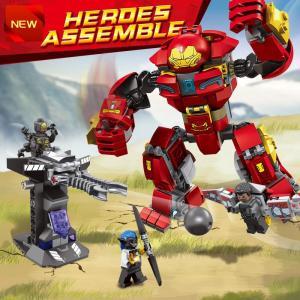レゴ 76104 アベンジャーズ ハルクバスター ブロック互換品  ■レゴ互換品になりますのでお手持...