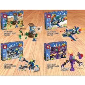 レゴ ブロック ディズニートイストーリー ウッディ4個セット互換品 送料無料          プレ...