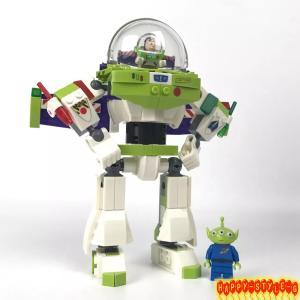 レゴブロック 7592 ディズニー トイストーリーバズ  互換品 当日発送!プレゼントなどに最適! ...