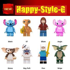 レゴ レゴブロック LEGO レゴミニフィグ ディズニー スティッチ8体セット 互換品 クリスマス プレゼント