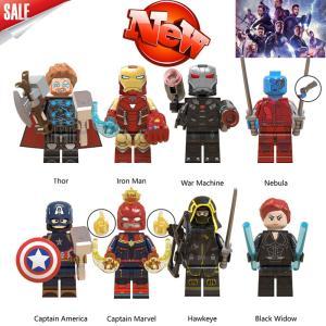 レゴ レゴブロック LEGO レゴ アベンジャーズ ミニフイグ 他8体kセット 互換