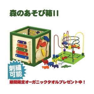 エドインター 森のあそび箱 ベビーおもちゃ 0歳 1歳 2歳 3ヶ月|happy3baby