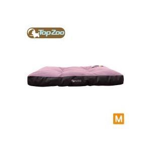 代引き不可フランス TopZoo/トップズー ドゥドゥリラックス キャンバスピンク M(W80×D55×H8cm)|happybasketfurniture