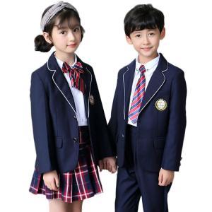4fc57436b791b キッズスーツ 4点セット 入学式 男の子 女の子 子供 フォーマル ジュニアスーツ ワンピース セレモニー 入園 ...