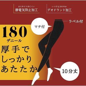 SABRINA サブリナ 180デニール プレーティングタイツ フットレス レギンス 日本製 グンゼ SBF195 メール便・代引不可|happycloset