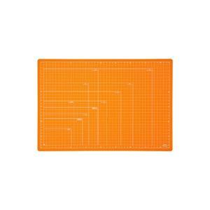 折りたたみカッティングマット A3サイズ CTMO-A3-OR オレンジ ×3セット