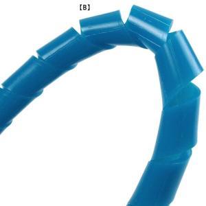 【直送】ダイビング アクセサリー ホースカバー ホースラップ スパイラルホースラップ IST PROLINE HW-1 90cm B(ブルー)|happyconnect
