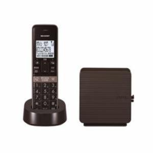 SHARP コードレス電話機 ブラウン系 JD-SF2CL-T|happyconnect