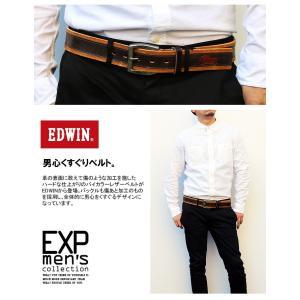 ベルト メンズ ベルト レディース レザー EDWIN エドウィン C-SALE メール便不可|happyexp3go|05