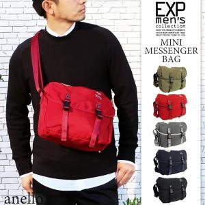 メッセンジャーバッグ ショルダーバッグ バッグ メンズ カバン 鞄 コンパクト 斜め掛け anello AT-B1622 公式商品 メール便不可|happyexp