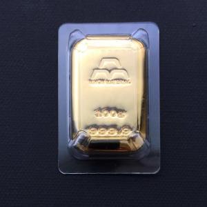 純金 インゴット 100g 日本マテリアル 24金 グッドデリバリーバー ゴールドバー 金塊 金の国...