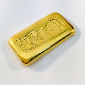 純金 インゴット 100g 徳力本店 24金 グッドデリバリーバー ゴールドバー 金塊 金の国際ブラ...