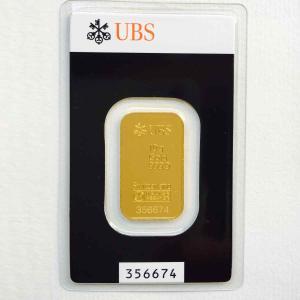 純金 インゴット 10g スイスUBS銀行 金の国際公式ブラ...