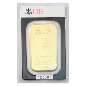 純金 インゴット 100g スイス UBS 24金 グッドデリバリーバー ゴールドバー 金塊 金の国...