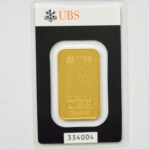 純金 インゴット 20g スイスUBS銀行 金の国際公式ブラ...