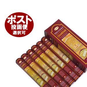 お香/チャンダン香/HEM CHANDAN/6箱セット/スティックタイプ/インド製|happyhour