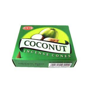 インドのお香/ココナッツ香 コーン/HEM COCONUT CORN/