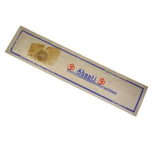 ネパールのロクタ紙にヒマラヤの押し花のお香(SHANTIシャンティ)/ネパールのお香|happyhour