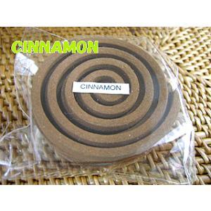 タイのお香 うずまき香COILS INCENSE【CINNAMON/シナモン】/全部で32種類の香り!/お香/インセンス|happyhour