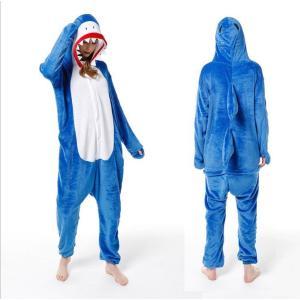 サメ 着ぐるみ 大人用 着ぐるみパジャマ ハロウィン コスプレ おもしろ アニマル きぐるみ