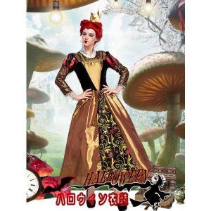 M/Lアリスメルヘンウィッチ  まじょ 魔女 トランプ ハートの女王 ハロウィン衣装 大人用 女性用...