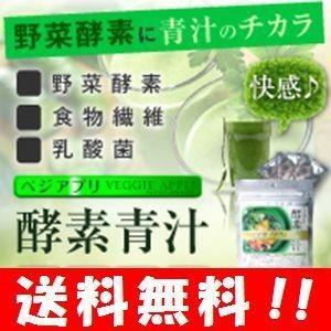 【送料無料】 ベジアプリ 酵素青汁 お試しサイズ30g(3g*10袋)