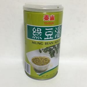 緑豆スープ 泰山緑豆湯 粒入り 350gの商品画像