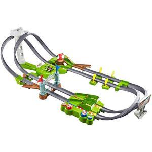 ホットウィール(Hot Wheels) マリオカート サーキット トラックセット 5才~ マリオカー...