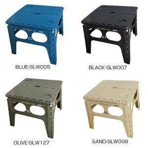 SLOWER(スロウワー) FOLDING TABLE Chapel フォールディング テーブル チャペル BLUE・SLW005|happyness