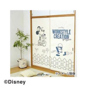ディズニーワークスタイルクリエイション 襖紙 ミッキー ガーデン 91×180cm 2枚入|happyness