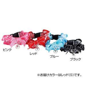 Cat Amo.k 猫首輪 リボンシュシュ S-RED 810017-0|happyness
