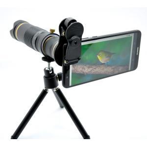 望遠レンズ スマホ望遠レンズ スマホカメラレンズ Casllee 23 倍 リモコンシャッター付き iPhone 用 Android 用|happyness
