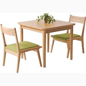 ダイニングテーブル 北欧デザイン 正方形 75×75 おしゃれ|happyrepo|04