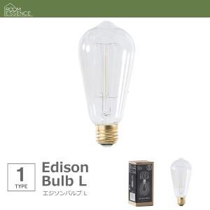 エジソンバルブ L エジソン電球 E26/60W アンティーク happyrepo