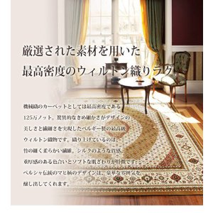 ウィルトン織り 玄関マット おしゃれ 75×120cm ベルギー製 世界最高密度|happyrepo|04