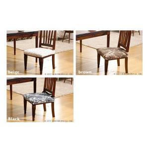 チェアカバー おしゃれ 2枚組セット スペイン製 ストレッチフィット 椅子カバー|happyrepo|03