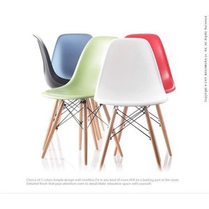 椅子 おしゃれ カフェ イームズシェルチェアDSW ダイニングチェアー|happyrepo|03