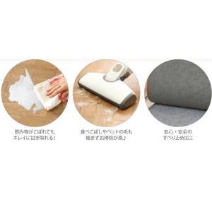 キッチン用ホットカーペット 本体+ホットカーペットカバー 45×120cm 木目調ホットキッチンマット 日本製 happyrepo 07