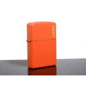 ZIPPO ジッポー ライター オレンジマット|happyrepo