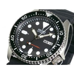 セイコー SEIKO ダイバー 腕時計 メンズ ブラックボー...