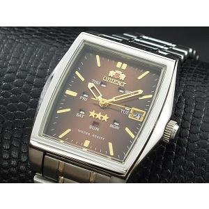 オリエント ORIENT スリースター 自動巻き 腕時計 URL035NQ|happyrepo