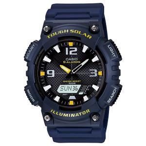 カシオ CASIO 腕時計 メンズ アナログ×デジタル ソーラー AQS810W-2A|happyrepo