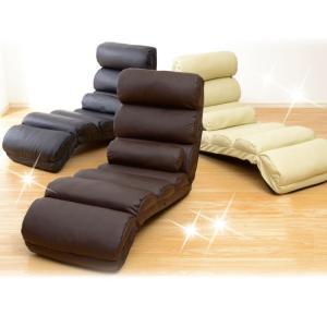座椅子 おしゃれ リクライニング 合皮PVCタイプ 座いす 座イス|happyrepo|05