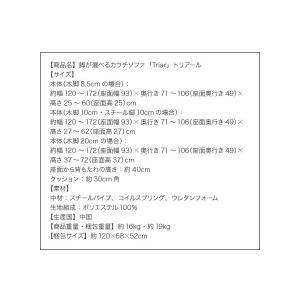 カウチソファ 2人掛け Triar|happyrepo|10