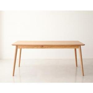 ダイニングテーブル おしゃれ W160 北欧 天然木|happyrepo